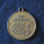 medal 1987 May 3 Long Beach Marathon CA