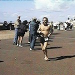 Ken Bob, Pacific Shoreline Marathon (1999 January 31) Huntington Beach CA