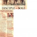 Disciple of Sole L.A. Times article