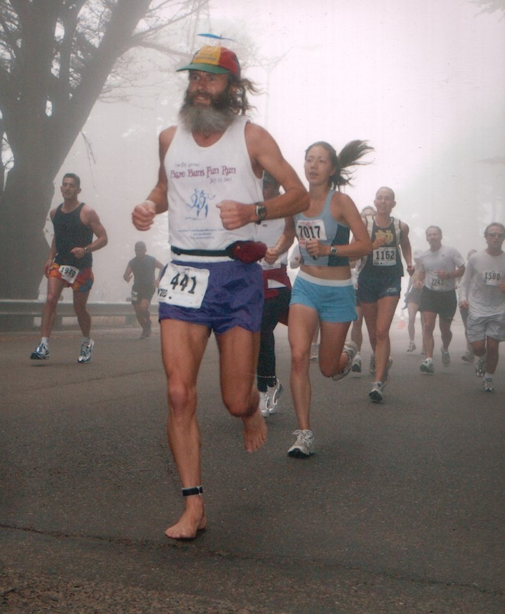 Foggy Ken Bob Saxton, San Francisco Marathon (2003 July 27)