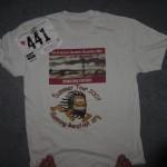 Ken Bob's race bib and T-shirt, San Francisco Marathon (2003 July 27)