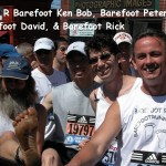 Ken Bob, Peter, David, Rick, Boston Marathon (2005)