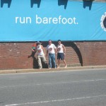 Ken Bob, Preston, David, Run Barefoot, Boston MA