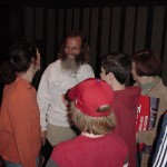 Ken Bob entertains fans at Boston Marahton Expo (2005)