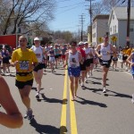 David Wright III, Boston Marathon (2005)