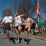 Preston, Jeff, and Mark at the Lexington 5K (2005)