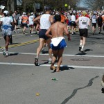 unknown barefoot runner, Boston Marathon (2005)