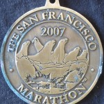 Medal (2007 July 29) San Francisco Marathon