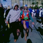 Julian and Ken Bob (2006 December 10) Las Vegas Marathon, Las Vegas NV