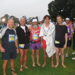 Barefoot Runners – Jim, Todd, Ken Bob, Julian, Chris