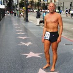 Todd on the Hollywood walk of Fame
