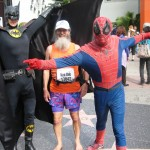 Batman, Ken Bob, and Spiderman