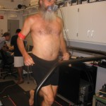 Ken Bob on treadmill (2010 June 9) Daniel Liberman's lab at Harvard