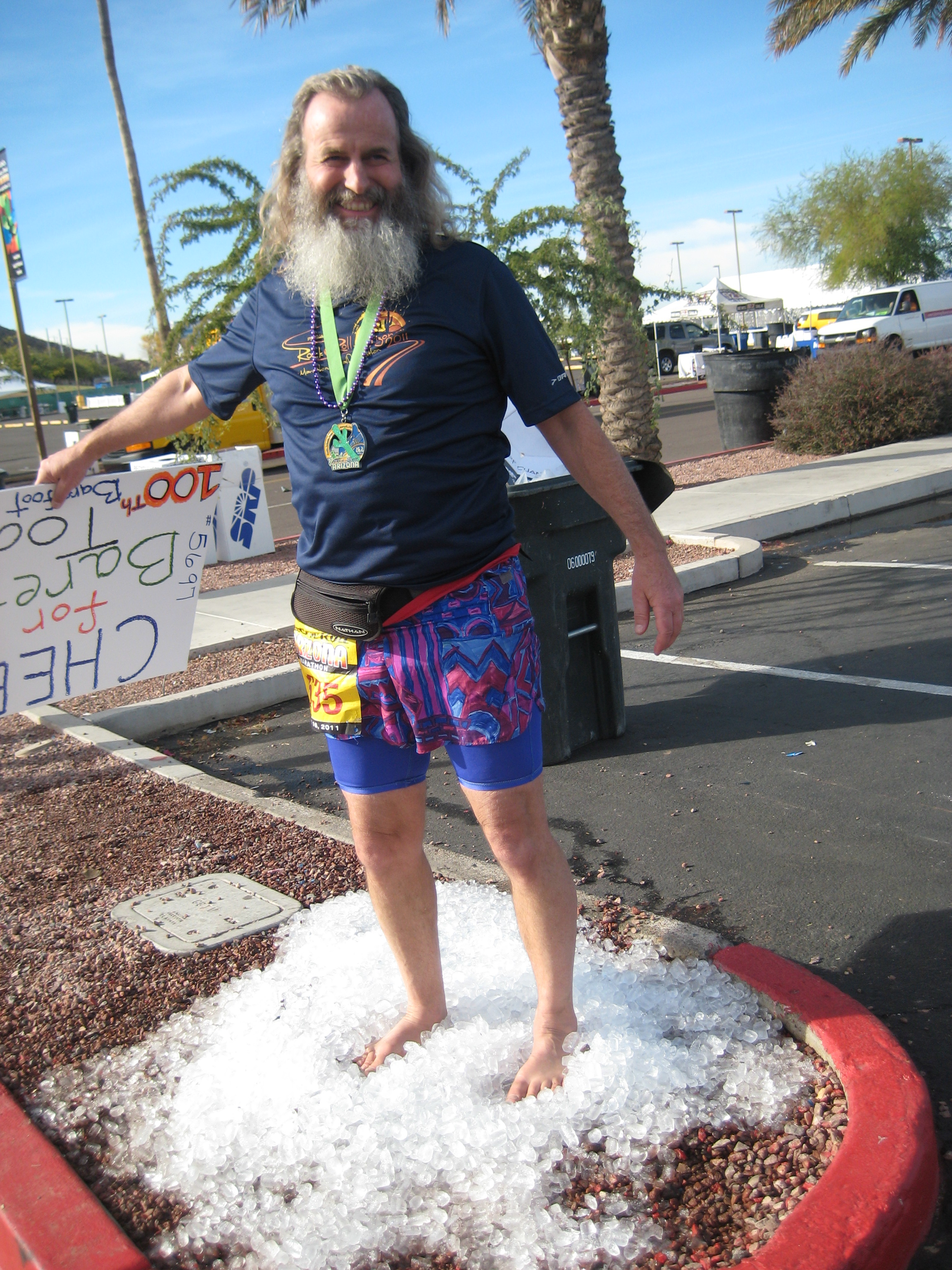 Ken Bob, keeping it cool, man!