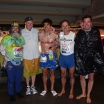 Ken Bob, Tom, Julian, Alberto, Craig (2011 March 20) Los Angeles Marathon