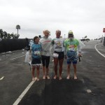 Aika, Caity, Todd, Ken Bob (2011 March 20) Los Angeles Marathon