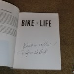 Bike for Life, Roy's autograph