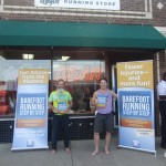 Roy and Ken at Gear Running Store, Minneapolis, Minnesota