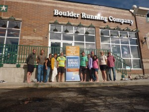 Josh, 2nd from left, Boulder Running Company, Greenwood Village CO, 2011 September 17