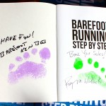 Barefoot Running Step by Step, auto-foot-print-graphed