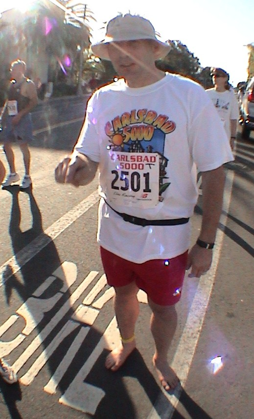 Ted McDonald, Carlsbad 5000, 2004 March 28 Carlsbad CA