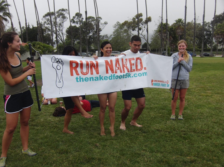 Run Naked banner