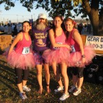Barefoot Ken Bob (in purple) 2009 November 15 Malibu Marathon CA