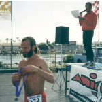 Ken Bob, 2nd in age division, Alamitos Bay 10K
