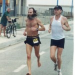 Ken Bob Saxton, Pacific Shoreline Marathon 2000 January 30 Huntington Beach CA