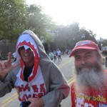 Shark and Ken Bob (2012 March 18) Los Angeles Marathon