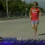 Ken Bob Saxton running barefoot on roads