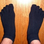David's Injinji Sock w/Plasti-dip Top