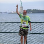 Ken Bob and Miss Liberty, NYC Barefoot Run (2011 September 24-25) New York City NY