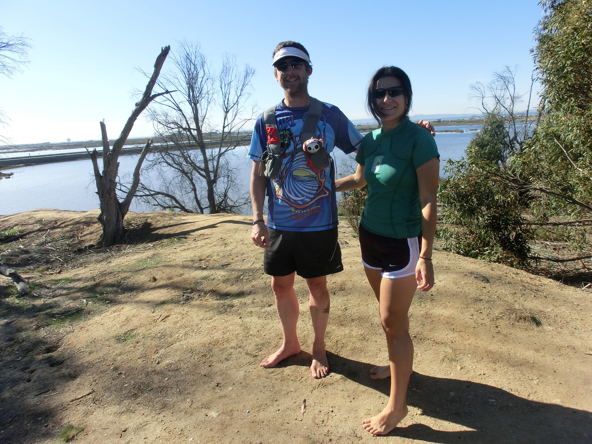 Vanessa, Shacky (2012 February 4) Regular Saturday Morning Runs