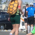 Turtleback girl (2012 February 5) Surf City Marathon