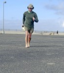 Saturday Morning Barefoot Run