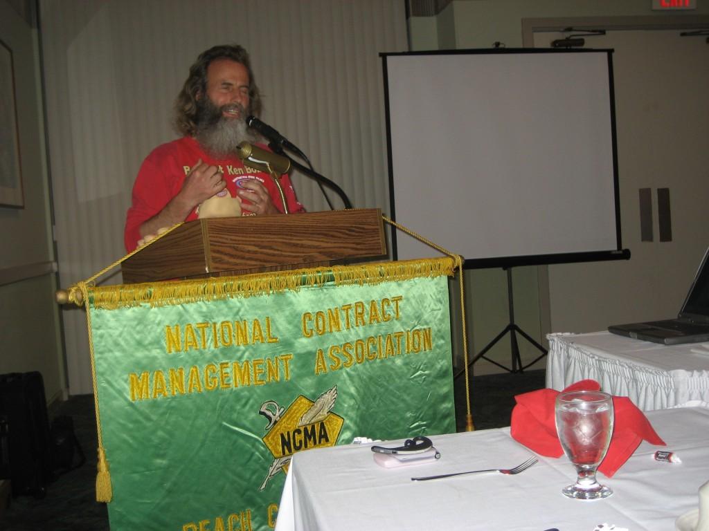 Ken Bob (2007 February 13) National Contract Management Association, Long Beach CA