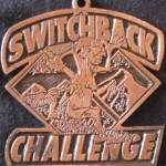 Medal 3rd in age division Switchback Challenge 10K (1998 August 2) Hacienda Heights CA