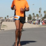 Sandaled runner (2012 February 5) Surf City Marathon