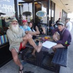 Not just for bearded barefoot men – International Barefoot Running Day (2011 May 1) Huntington Beach CA