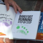 Barefoot Running Step by Step - auto-foot-print-graphed by Roy and Ken Bob