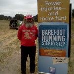 Ken Bob Soles of Barefoot Ken Bob (2011 May 13-15) Born to Run Ultramarathons, Los Olivos CA