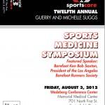 2012 Suggs Sports Medicine Symposium