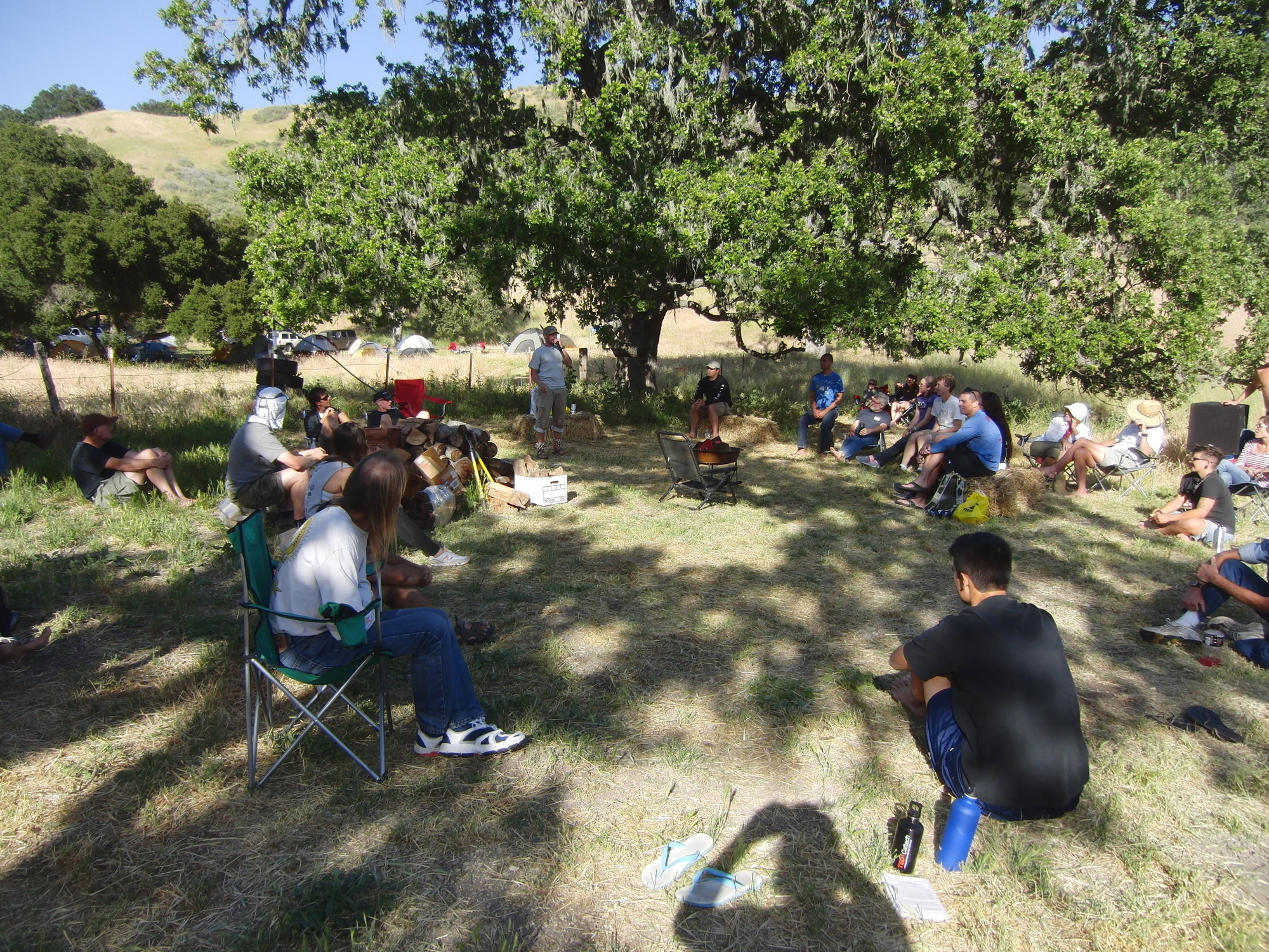 Orientation with Louis Escobar (2011 May 13-15) Born to Run Ultramarathons, Los Olivos CA