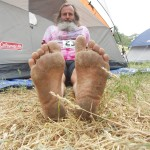 Ken Bob's soles (2011 May 13-15) Born to Run Ultramarathons, Los Olivos CA