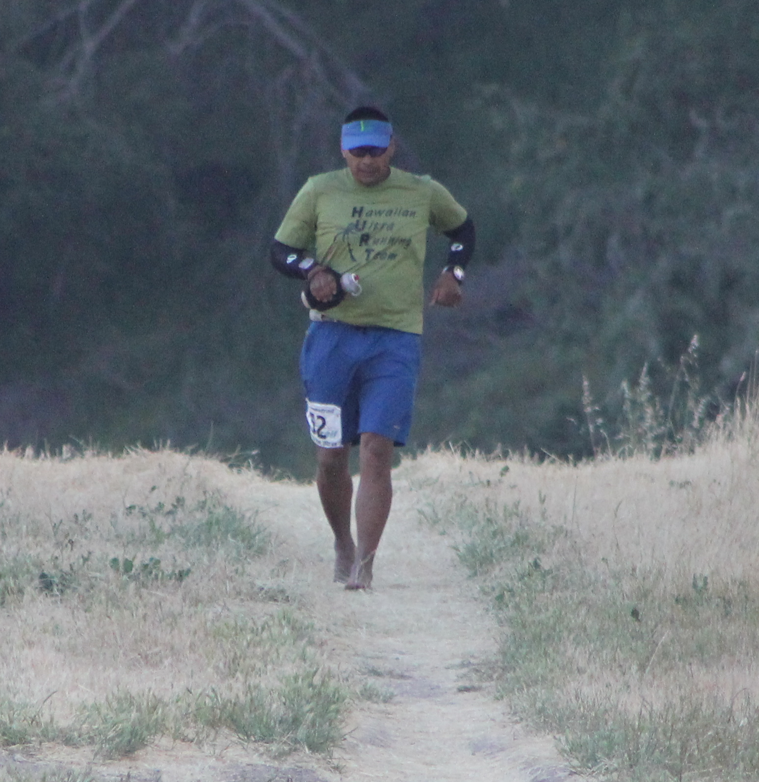 Mauricio Puerto (2011 May 13-15) Born to Run Ultramarathons, Los Olivos CA