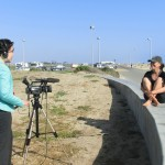 Elizabeth interviews Michelle for Voice of America (2012 May 6) IBRD, Huntington Beach CA
