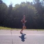 Rae Heim running across the United States 2012