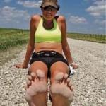 Running with Rae Barefoot Across America