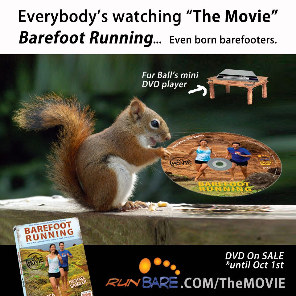 Barefoot Running - The Movie